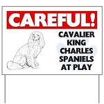 Cavalier King Charles Spaniels Yard Sign