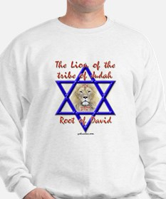 Lion Of The Tribe Of Judah Sweatshirt