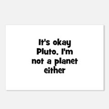 It's okay Pluto, I'm not a pl Postcards (Package o