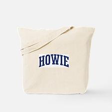 HOWIE design (blue) Tote Bag