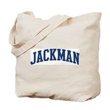 JACKMAN design (blue) Tote Bag