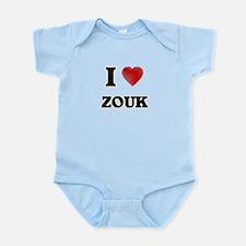 I Love Zouk Body Suit