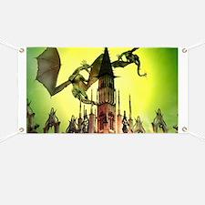 Flying dragon Banner