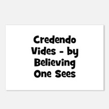 Credendo Vides - by Believing Postcards (Package o