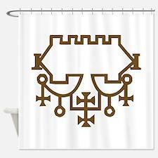 Belial Goetic Seal Shower Curtain