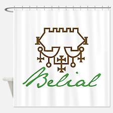 Belial Shower Curtain