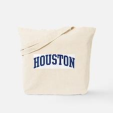 HOUSTON design (blue) Tote Bag