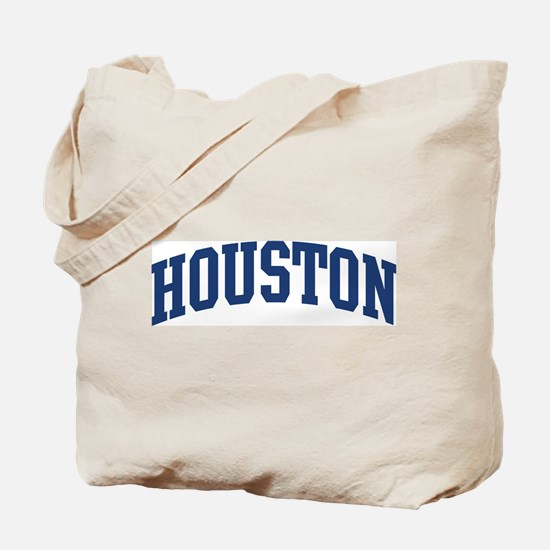 HOUSTON design (blue) Tote Bag