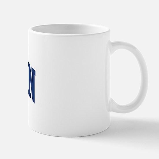 HOUSTON design (blue) Mug