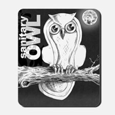 Sanitary Owl  Mousepad