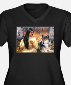 Grey Wolf.jpg Plus Size T-Shirt