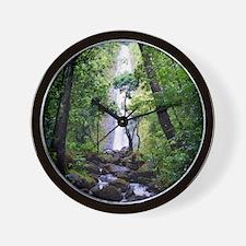 Manoa Falls Hawaii Wall Clock