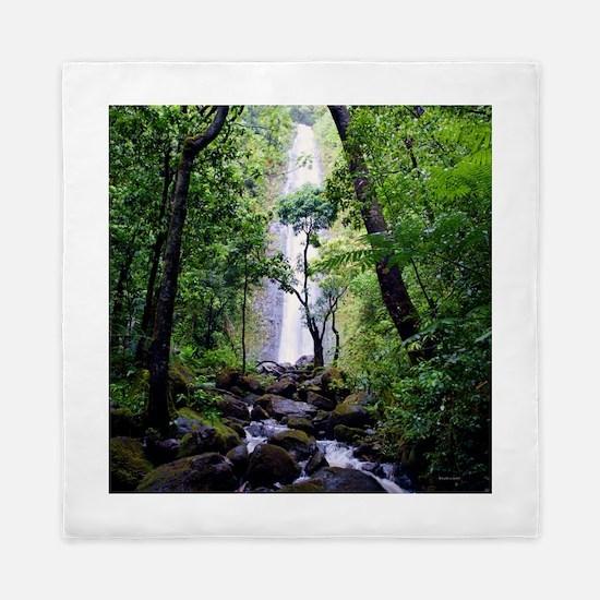 Manoa Falls Hawaii Queen Duvet