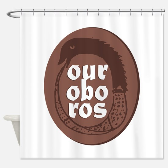 Ourobros Shower Curtain