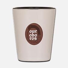 Ourobros Shot Glass