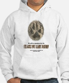 TRACKS WE LEAVE BEHIND Jumper Hoody