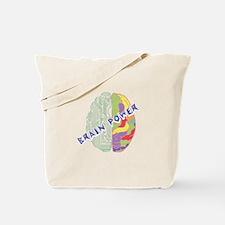Left Brain Tote Bag