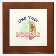 Use Your Noodle Framed Tile