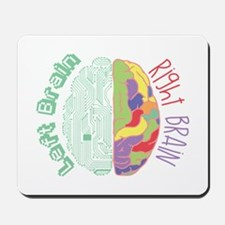 Left & Right Brain Mousepad