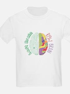 Left & Right Brain T-Shirt