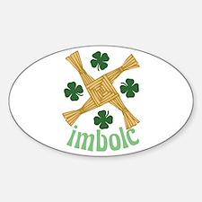 Imbolc Sticker (Oval)