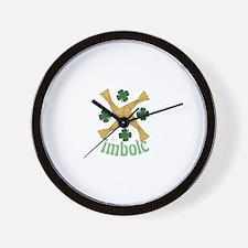 St. Brigids Cross Wall Clock