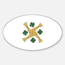 St. Brigids Cross Decal