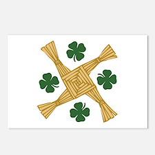 St. Brigids Cross Postcards (Package of 8)