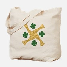 St. Brigids Cross Tote Bag