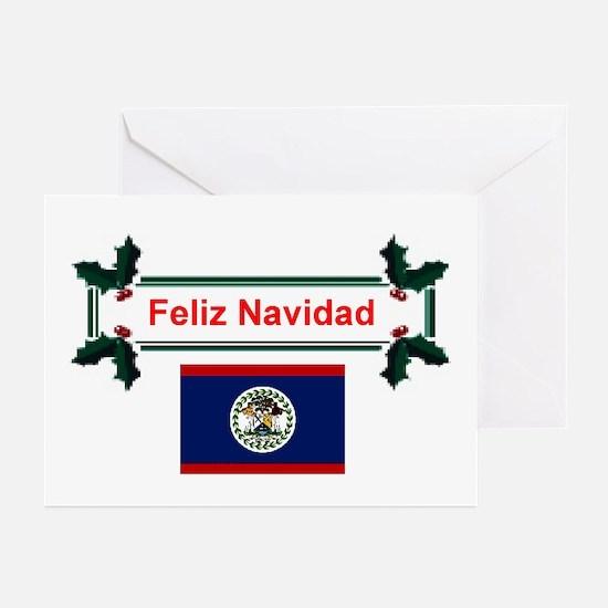 Belizean Feliz Navidad Greeting Cards (Pk of 10)