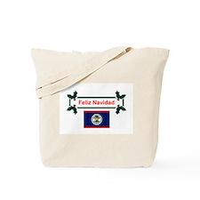 Belizean Feliz Navidad Tote Bag