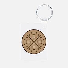 Asatru Stave Sigil Keychains