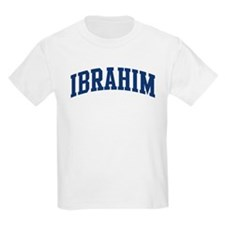 IBRAHIM design (blue) T-Shirt