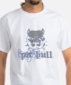 PitBull Grey Blue T-Shirt