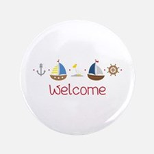 Nautical Welcome Button