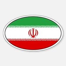 Iranian Decals Oval Decal