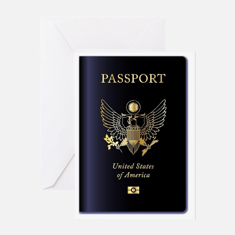 Cute Citizenship Greeting Card