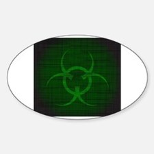 Unique Toxic waste Decal