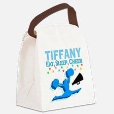 PERSONALIZED CHEER Canvas Lunch Bag