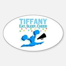 PERSONALIZED CHEER Sticker (Oval)