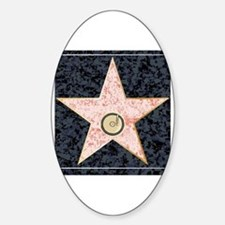 Cute Fame movie Sticker (Oval)