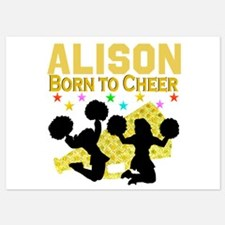 PERSONALIZED CHEER Invitations