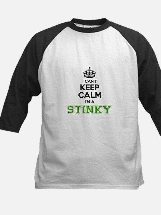 Stinky I cant keeep calm Baseball Jersey