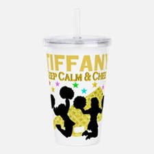 PERSONALIZED CHEER Acrylic Double-wall Tumbler