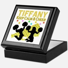 PERSONALIZED CHEER Keepsake Box