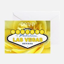 Las Vegas RSVP Yellow Rose Cards 10