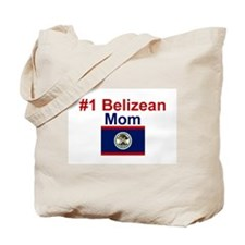 #1 Belizean Mom Tote Bag