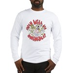 PARTY WITH THE ANIMALS Long Sleeve T-Shirt