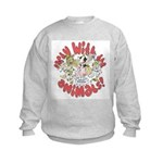 PARTY WITH THE ANIMALS Kids Sweatshirt