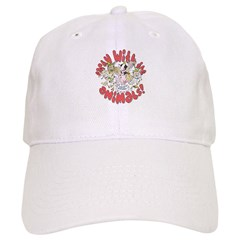 PARTY WITH THE ANIMALS Baseball Cap